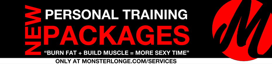 Personal Training Packages Banner (Testimonials)
